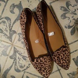 Merona leopard print flats size 9.5